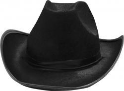 Chapeau de Cowboy noir adulte pas cher