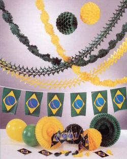 Kit Décorations Brésil
