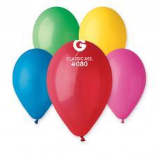 ballons de baudruche multicolores