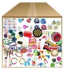 Carton 500 jouets de Kermesse avec 10 hand spinner offerts