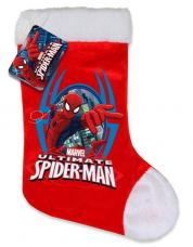 chaussette de noel spider man