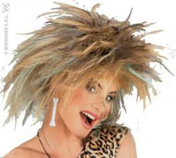 perruque prehistorique pour femme
