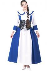 deguisement medieval louise bleue