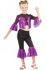 Déguisements Costume Starlette Fille