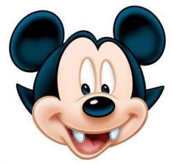 Masque Mickey Vampire pas cher