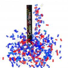 canon confettis bleu blanc rouge