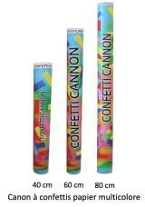 canon a confettis papier multicolore