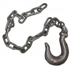 décoration chaîne avec crochet