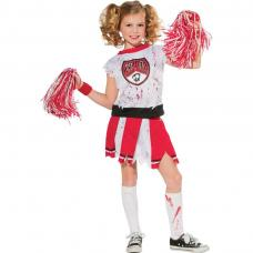 costume cheerleader ensanglantee