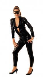 Déguisements Combinaison Femme Latex Noir