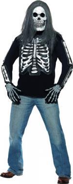 Déguisements T-shirt squelette