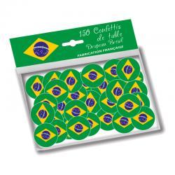 Confettis de table aux couleurs du Brésil