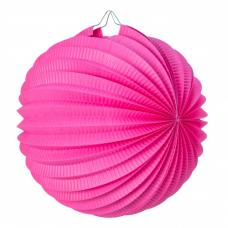 lampion rond bubble gum