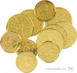 Sachet de 20 doublons dorés pas cher
