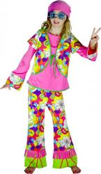 Costume Hippie Fille pas cher