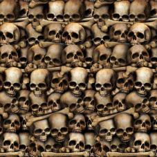décor catacombes crânes