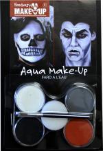 Déguisements Palette Maquillage Vampire et Squelette
