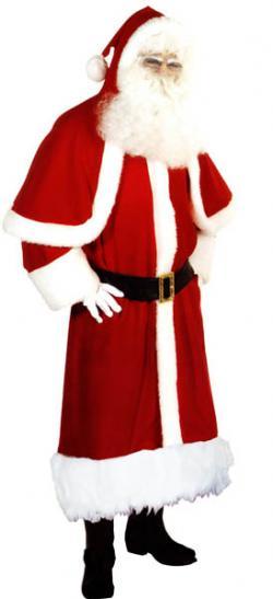 Déguisement Père Noël Super Luxe