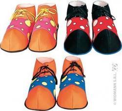 Chaussures clown adulte pas cher