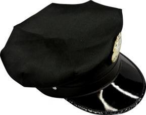 casquette police americaine noir