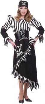 Déguisement Pirate Femme Noir