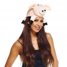 chapeau cochon adulte