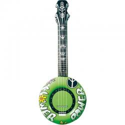 Guitare hippie banjo gonflable