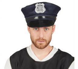 casquette police américaine bleu