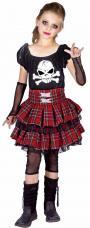 costume punk fille