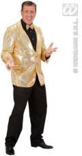 veste paillettes or pour homme