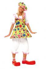 Déguisement Clown Fiesta Femme