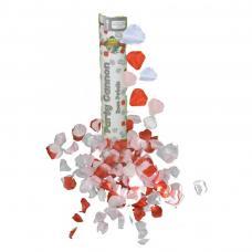 canon a confettis petales de rose multicolors
