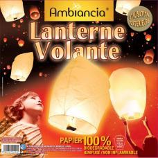 lanterne volante blanche luxe