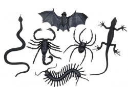 Halloween : sachet de 6 créatures