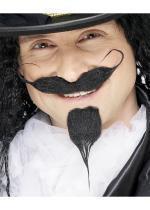 Moustache et bouc mousquetaires