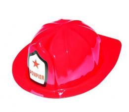 casque de pompier plastique