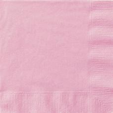 serviettes papier rose