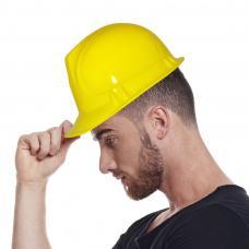 casque de chantier en plastique
