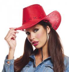 Chapeau Cowboy Texas rouge pas cher