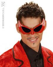 lunettes diable rouge