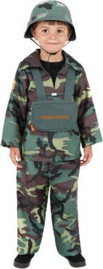 Déguisement Soldat Parachutiste Enfant