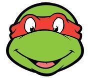 masque en carton raphael des tortues ninja