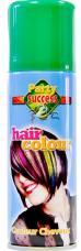 spray cheveux couleur vert