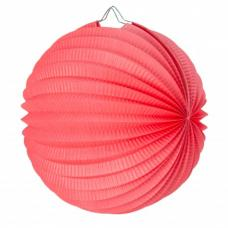 lampion rond corail