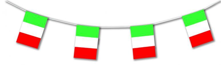 guirlande drapeaux italie