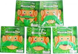 Moustache verte