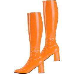 Bottes gogo 60's orange