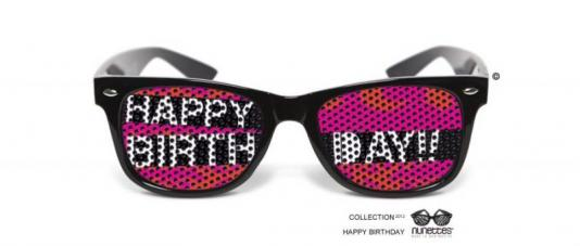 lunettes humoristiques happy birthday
