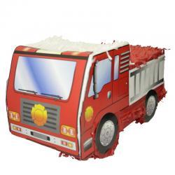 Pinata camion de pompier enfant