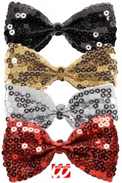 Noeud papillon paillettes